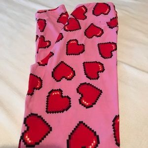 Tween Valentine's Day Tween Leggings